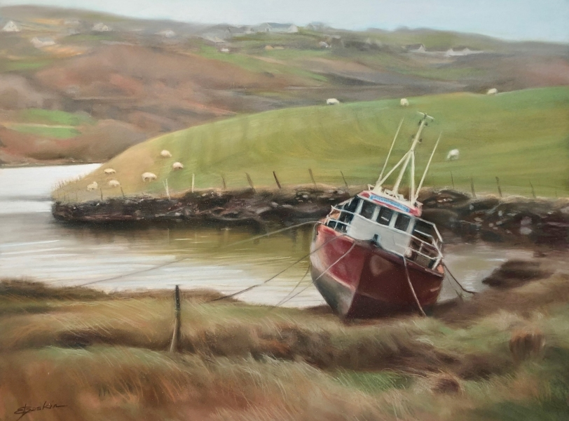 Fishermans-Friend-18x24-pastel-by-Evie-Baskin
