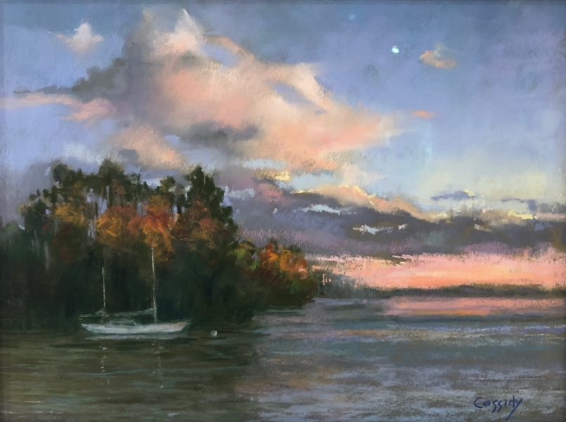 Quiet-Harbor-pastel-by-Katie-Cassidy