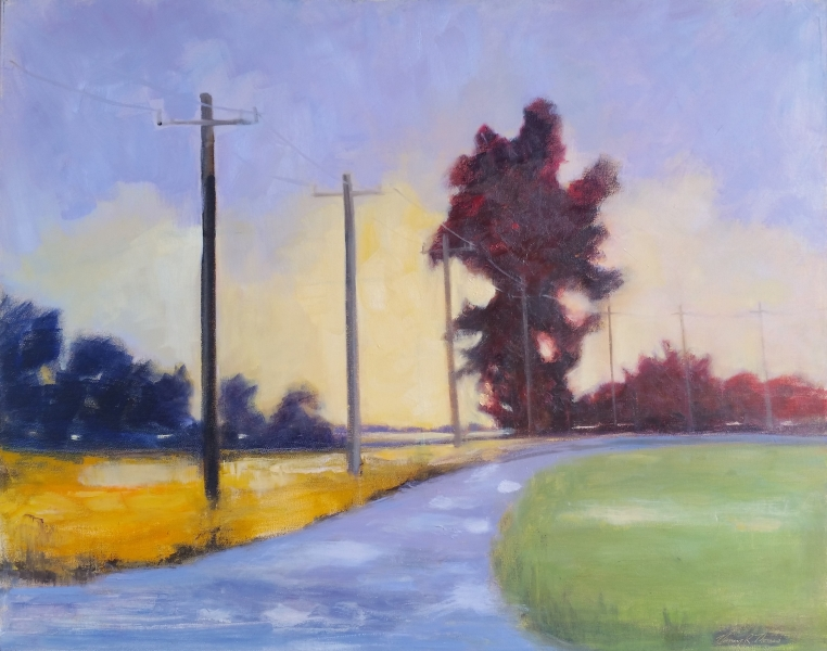 Country Road III OIL 30X24 NRT