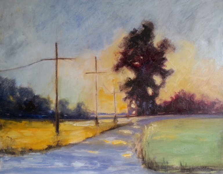 Country Road Oil 30X24
