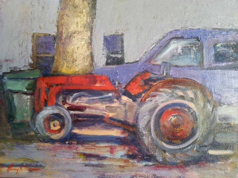 Mielke Farm Tractor, 12X9, Oil