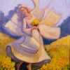 Dancing with the Daffodils Oil