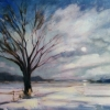 Winter Blue 24X18 Oil