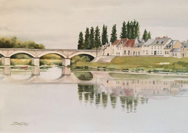 Loire Thru The Bridge