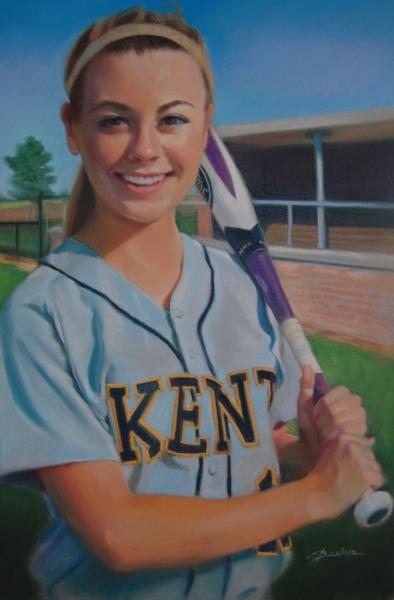 Rachael Nelson, CO-MVP for 2015 & 2016, Kent County High School