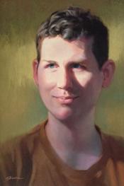 """Kris"", oil on canvas"