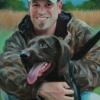 Rob Kendall and Kenai, Waterfowl Hunter, Kent County