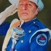 Mark Mumford, Leader of Kent County Community Marching Band for 29 years