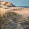 After Dune Delight, pastel by E. Baskin