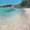 Soft-Sand-Vibrant-Sea-16x20-pastel-by-Evie-Baskin