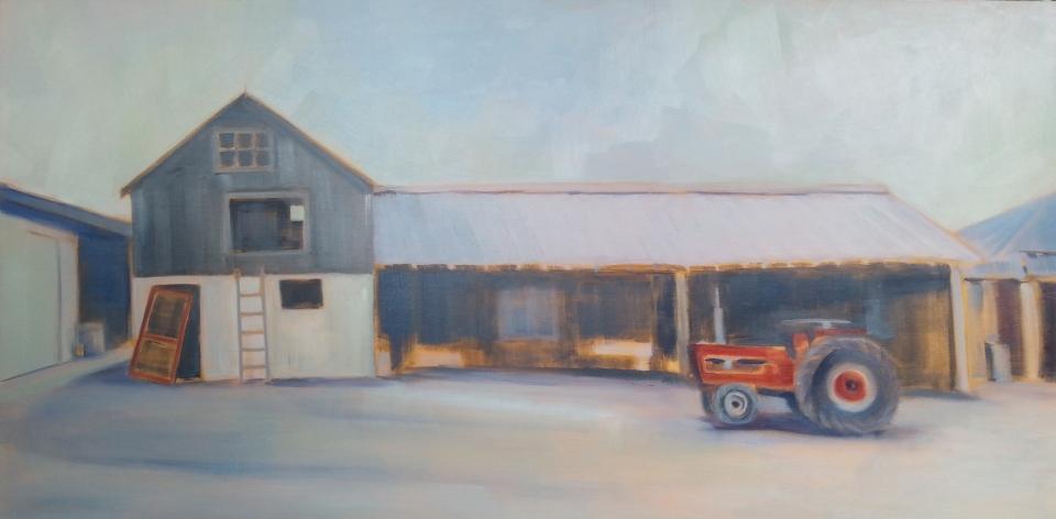 Sandy Cove 48X24, Oil