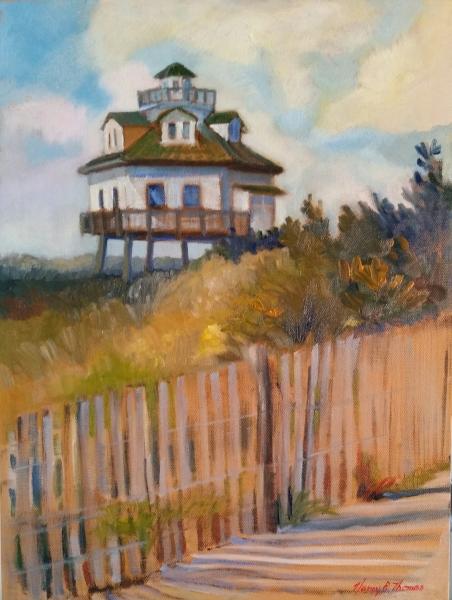 The Lighthouse 9X12 Oil