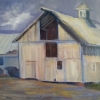 Kemp Barn, 16X12 Oil