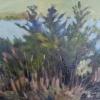 Three Pines, 9X12 Oil