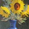 nrtsunflowersinblue